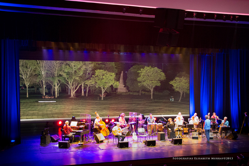 Auditório Ibirapuera stage, São Paulo