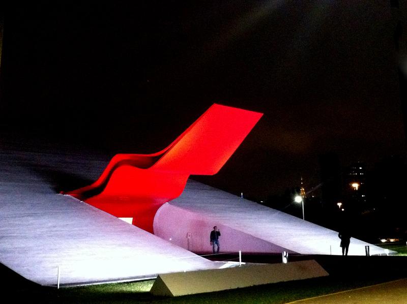 Auditório Ibirapuera, SP by Oscar Niemeyer