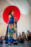 Kimono Fashion Show by NY Designer Hiromi Asai at the Miami Beach Botanical Garden
